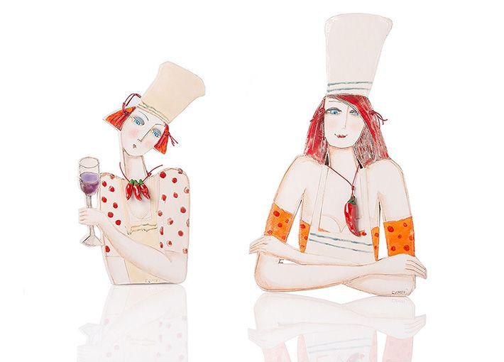 Enrica Campi Le Cuoche Creativity Oggetti - ph Federica Cioccoloni