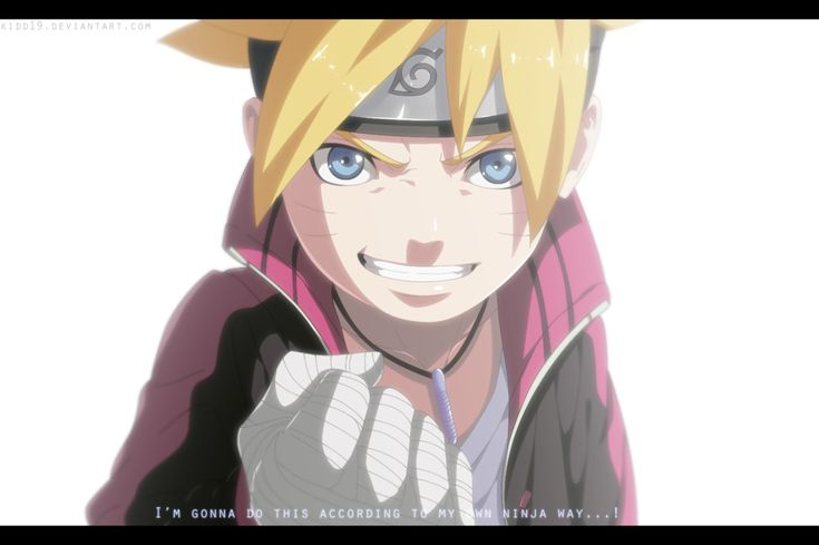 Boruto Next Generations Ch 10 - My Own Ninja Way by kidd19.deviantart.com on @DeviantArt