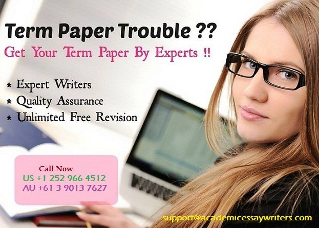 Looking for high quality term paper service online then Academic Essay Writers is the place that you need and intended to fulfill your writing needs.Place you order now! #TermPaperService #AcademicEssayWriters