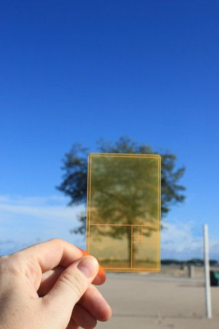 Golden Section Finder By Parsons & Charlesworth $6.00 necesito una de esta, y ya viene Navidad ;)