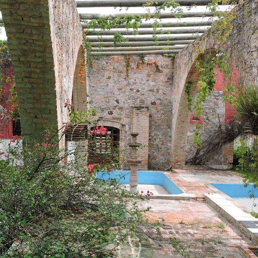 Ex hacienda Gogorron, San Luis Potosi.