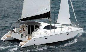 Veleiro catamaran de 35 pés