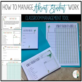 How to Manage Absent Student Work