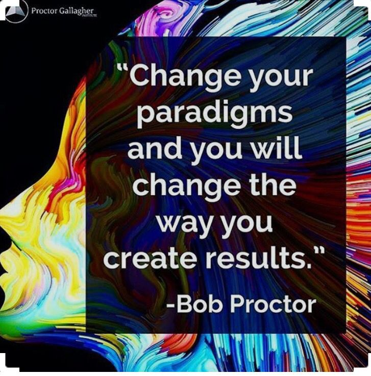 Law of attraction quote and affirmation. Want to learn to change your paradigms to achieve greater results? Bob proctor is hosting a live stream event over 3 days to teach the exact process he has mastered. @proctorgallagherinstitute