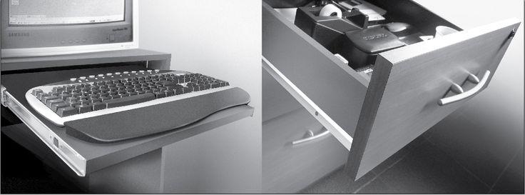 Sistemas de cajones y tiradores son parte de nuestra linea Organiza
