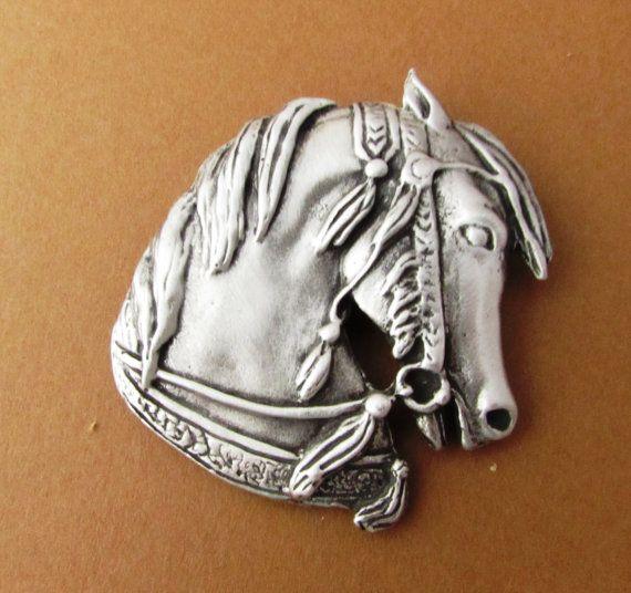 Beautiful Arabian Horse Pin Arabian Horse by JudyVargasDesign
