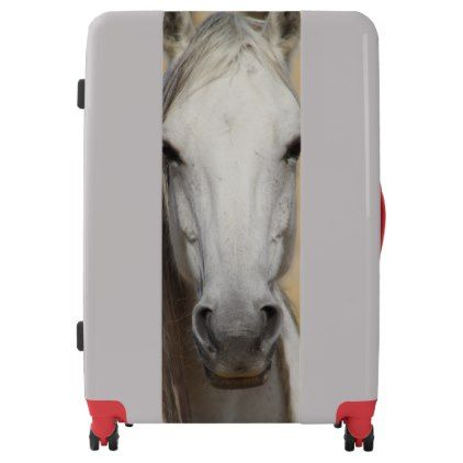 WILD HORSE OF UTAH LARGE SUITCASE - diy cyo customize create your own #personalize