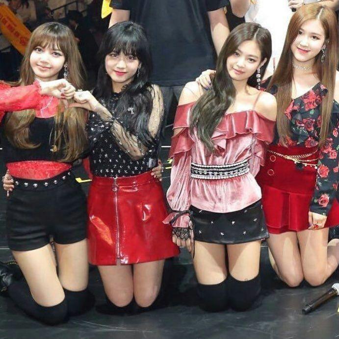 صور عضوات بلاك بينك Blackpink Fashion Blackpink Black Pink Kpop