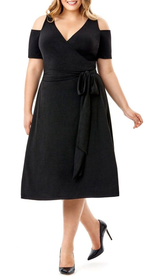 10  ideas about Plus Size Black Dresses on Pinterest  Full ...
