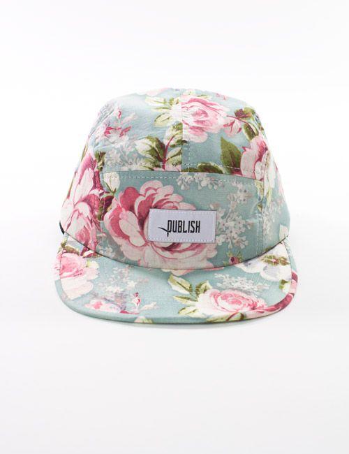 Floral Snapback. Imal ged. Gift pls