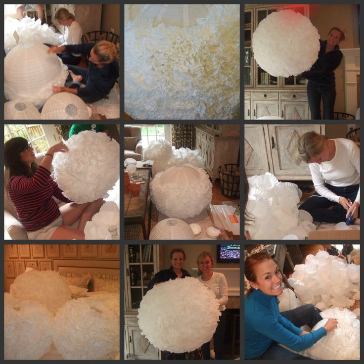 Carolina Charm: DIY Paper Lanterns & A Garden Engagement Party