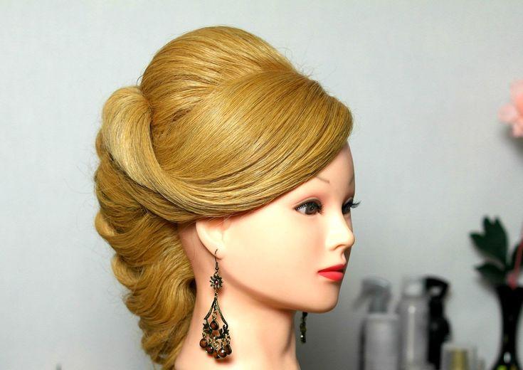 Свадебная, вечерняя прическа, прическа на выпускной на длинные волосы. W...