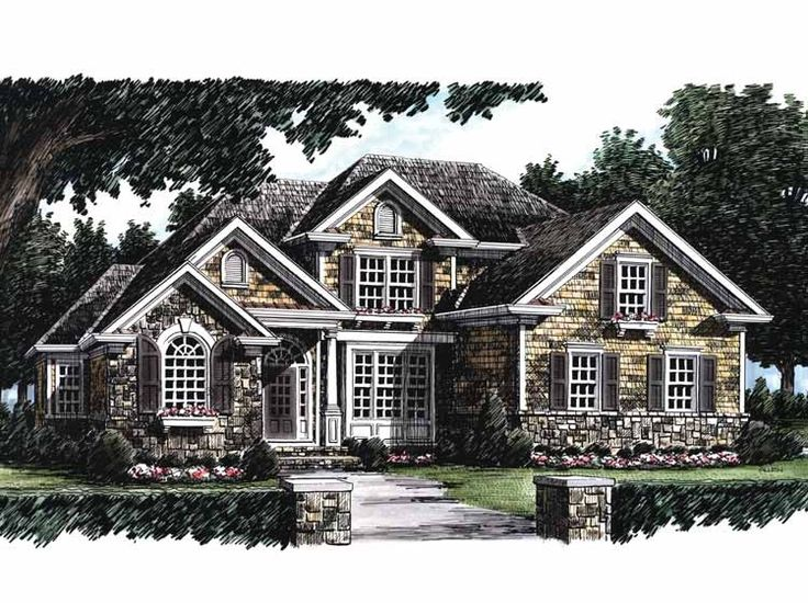French Country Cottage House Plans 150 best house plans images on pinterest | country house plans