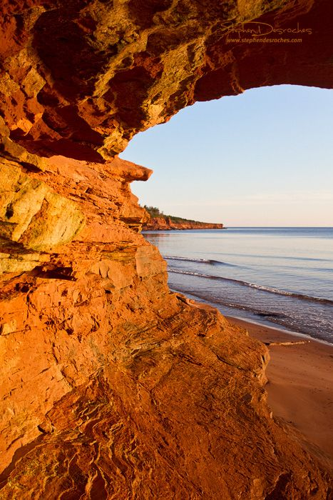 Cavendish Beach, Prince Edward Island, Canada... Got chased by some foxes here once.