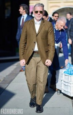 Nick Wooster, Photographed in Florence - Click Photo To See More