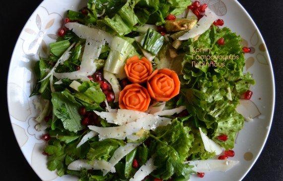 Μια πράσινη σαλάτα της ευελιξίας και της ποικιλίας! – Κρήτη: Γαστρονομικός Περίπλους