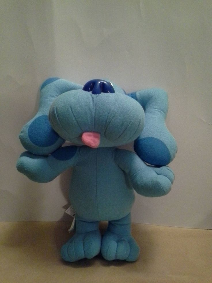 Excited to share the latest addition to my etsy shop: Vintage Blues Clues Plush, Vintage 1997 Tyco Blues Clues, Blues Clues doll http://etsy.me/2oMVJmM