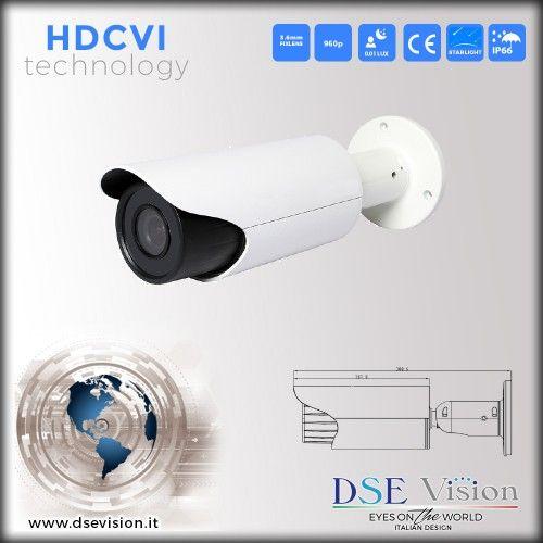 DS-MPHD13MPS Telecamera a colori starlight ottica fissa 6mm IR impermeabile