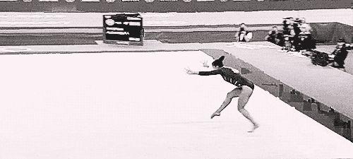 Aly Raisman, USA   Community Post: 25 GIFs That Prove Women's Gymnastics Is The Work Of Superhumans