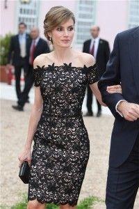 Vestidos de encaje negro 6