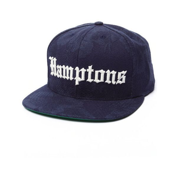 hamptons snapback cap by Acapulco Gold ($36) ❤ liked on Polyvore featuring accessories, hats, caps hats, gold caps, gold tooth cap, gold hat y snap back hats
