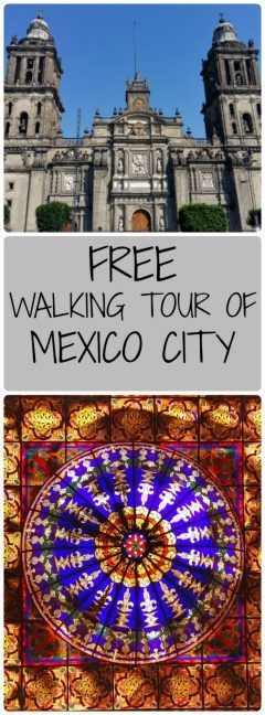 Despite being skeptical about walking tours, I actully really enjoyed this free walking tour of Mexico City, run by Estacion Mexico.  They took us to hidden corners of CDMX and we found places even Mexicans didn't know about!