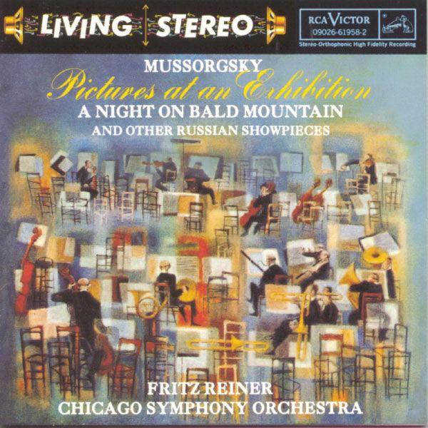 living stereo album covers | Chicago Symphony Orchestra - Fritz Reiner Moussorgski : Tableaux d'une ...