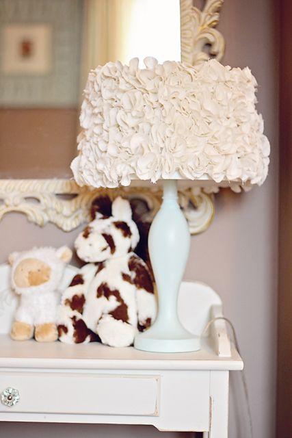 Cute DIY lampshade.