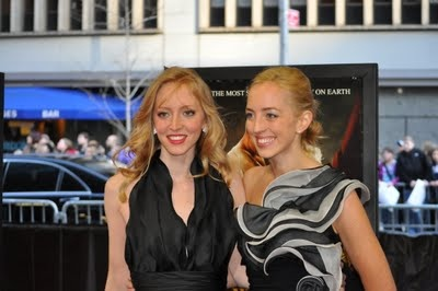 Robert Pattinson News: Water for Elephants: Exclusive Red Carpet Coverage Rob's sisters Lizzie & Victoria