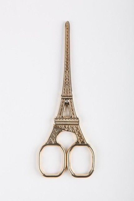 Eiffel Tower scissors / TYPO