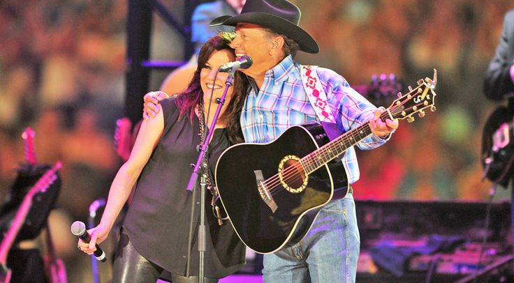 Country Music Lyrics - Quotes - Songs Martina mcbride - George Strait And Martina McBride Channel Their Inner Johnny