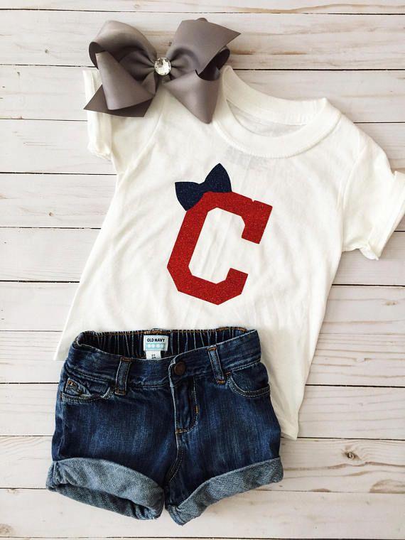 Clevland Indians Shirt Clevland Indians Girl's Shirt