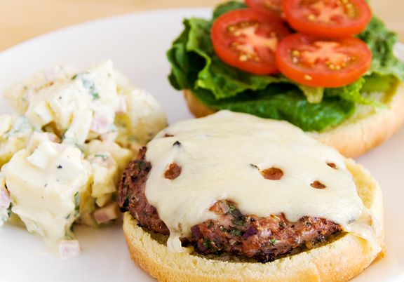 turkey burgers recipe   use real butter