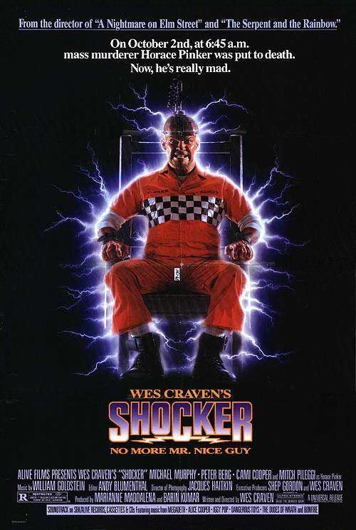 Shocker Movie Poster - Internet Movie Poster Awards Gallery