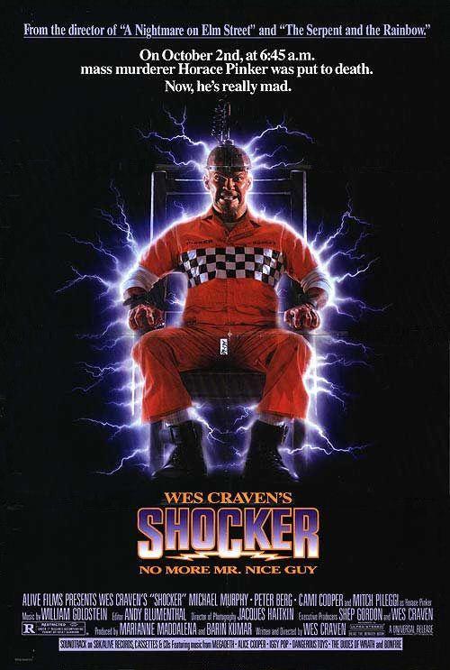 Shocker Movie Poster - Internet Movie Poster Awards Gallery