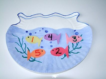 Nursery Rhyme Counting Craft For Kids.      We think 1,2,3,4,5 Once I Caught A Fish Alive Nursery Rhyme craft for kids is a g