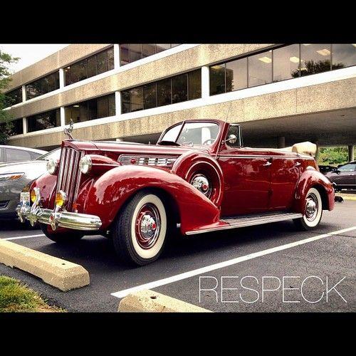 Packard Eight. Stunning.