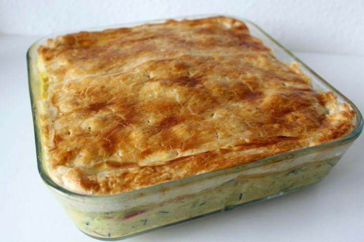 Sabrina's Køkken: Kyllinge pie med karry