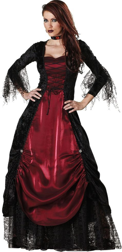 Adult Elite Gothic Vampira Vampire Costume - Party City