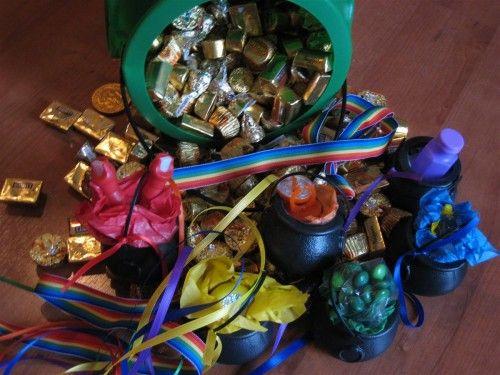 Leprechaun game for St. Patrick's Day