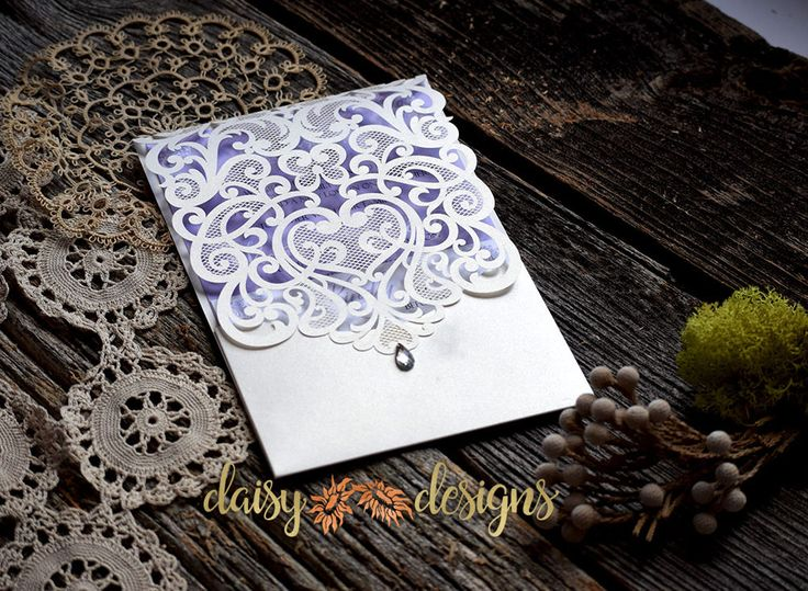 Daisy Designs has a wide variety of Premium Laser cut Paper Invitations available for almost any taste, design, style or occasion.Call 613-821-1059.
