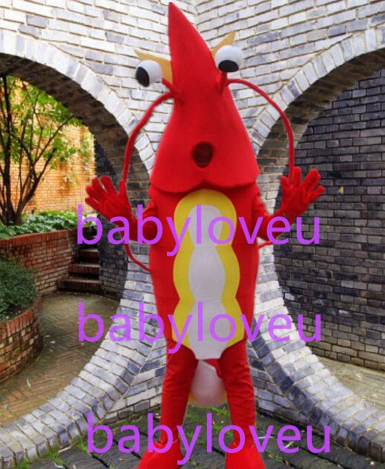 >> Click to Buy << New red Shrimp mascot costume fancy costume bugs bunny dragon mascotte cooling fancy dress carnival costume #Affiliate