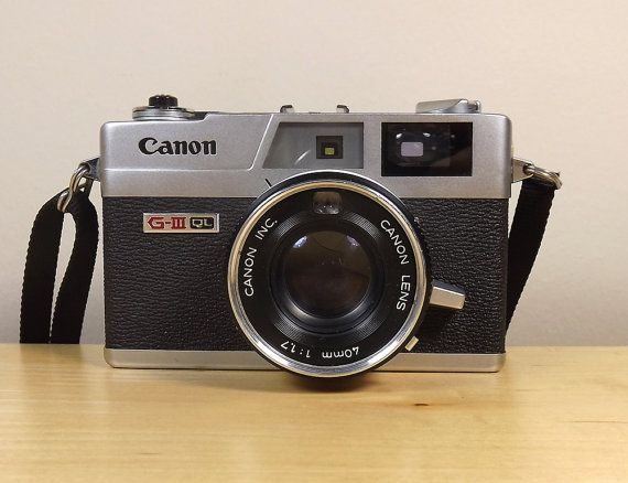 Camera Canon Canonet QL17 GIII QL With Canon 40mm by TheGreenFinch