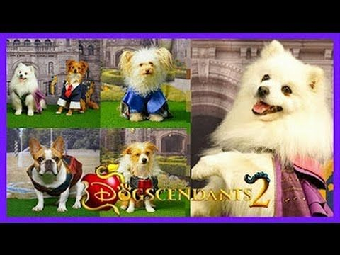 Descendants 2 - Seeing Dizzy/Making the Wand - YouTube