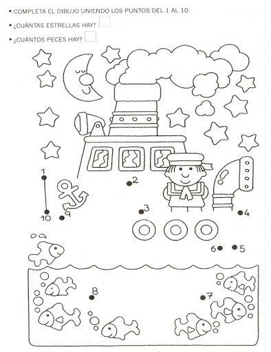 dot to dot sailboat worksheet  |   Crafts and Worksheets for Preschool,Toddler and Kindergarten