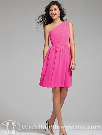 Alfred Angelo 7243S Bridesmaid Dress - Pink Bridesmaid Dresses from the Wedding Shoppe http://www.weddingshoppeinc.com