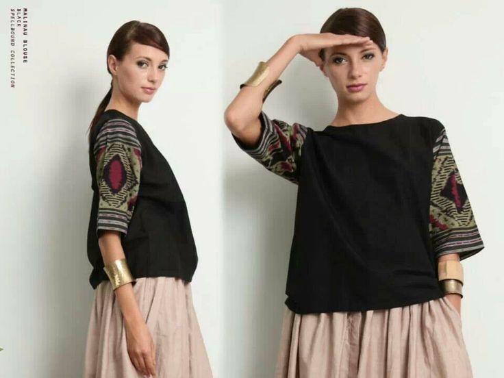 black suits batik