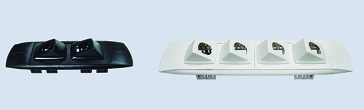 QD Series: Data.  The flexibility of the QD System allows you to match your data panels to complement the QD Series Quick-Fit Power Outlets. http://elsafe.com.au/products/power-and-data/data-a-av/qd-data.html