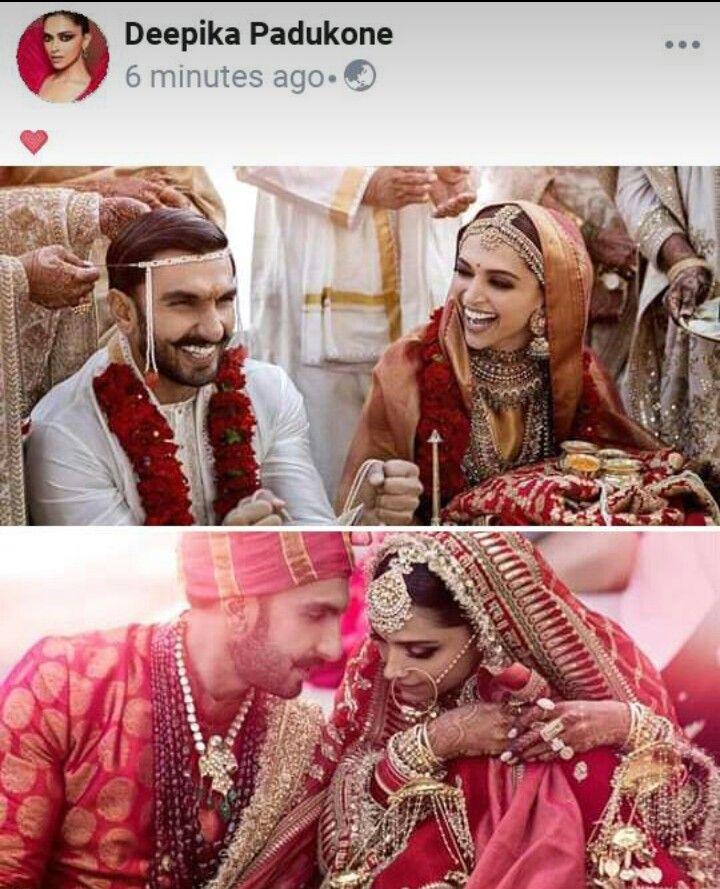 Finally They Married Deepika Padukone Style Bollywood Wedding Bollywood Celebrities