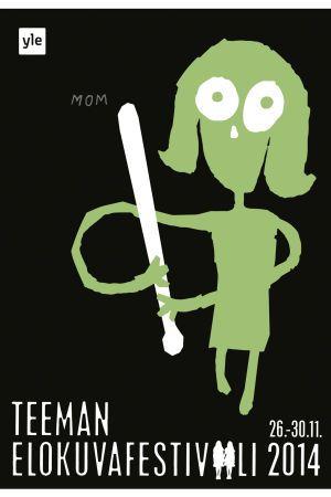 Teema Film Festival 2014 / Shining / Poster by Kirsi Kukkurainen / YLE